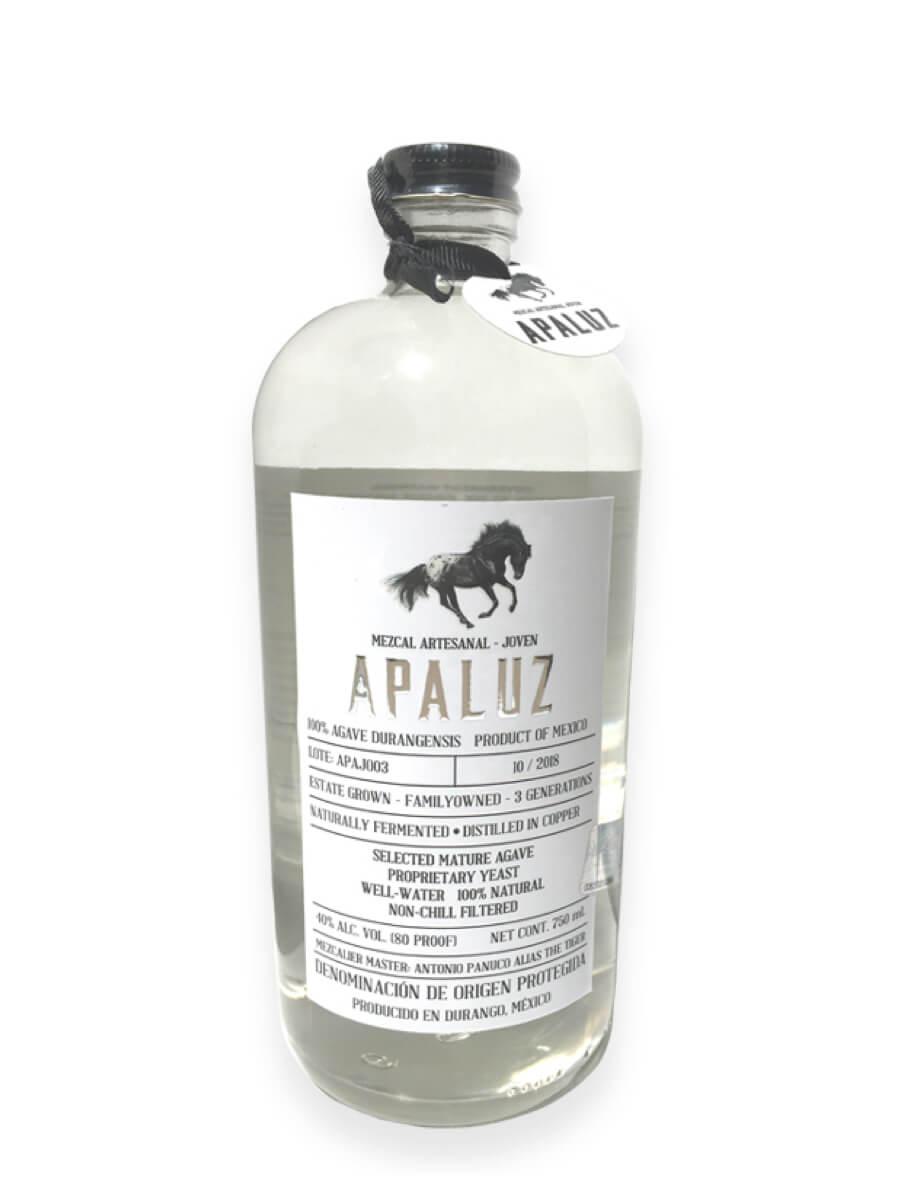 Apaluz Mezcal Durango bottle