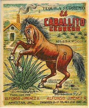 Caballito Cerrero Tequila Destilado