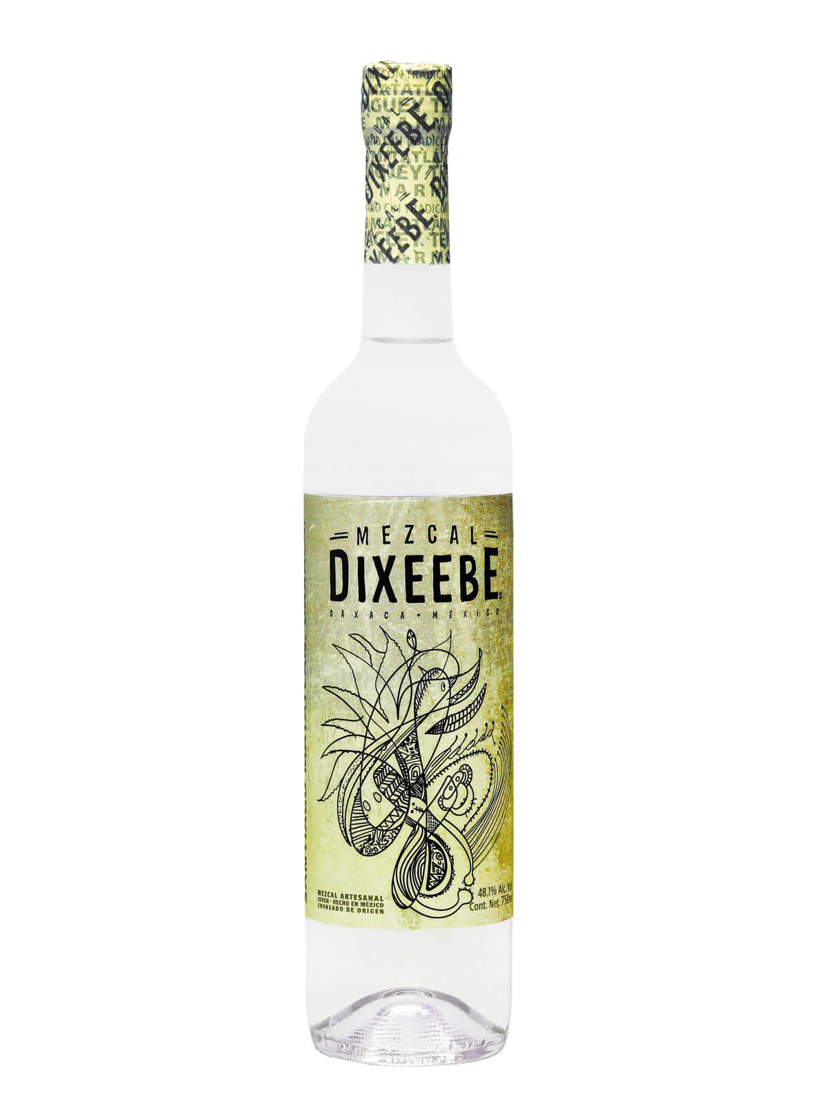 Mezcal Dixeebe Coyote bottle