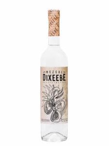 Mezcal Dixeebe Cuishe bottle