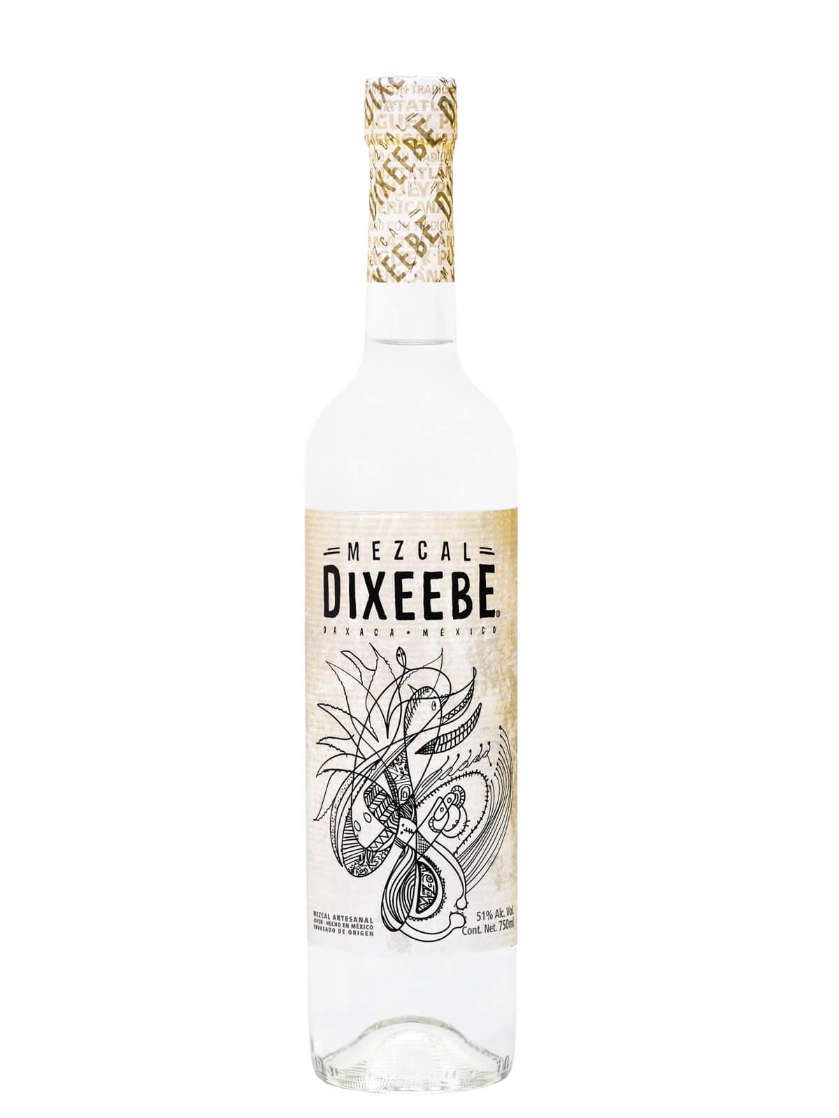 Mezcal Dixeebe Pulquero bottle