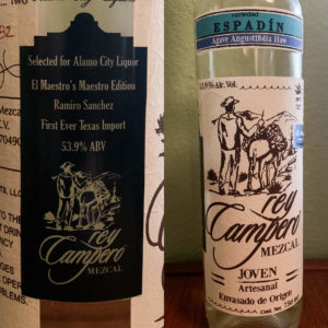 Rey Campero Espadin Batch Pick Alamo City Liquor