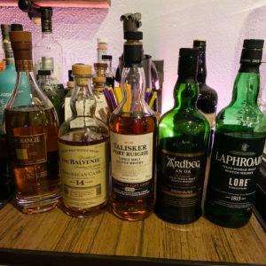 Scotch Whisky Mezcal Tasting