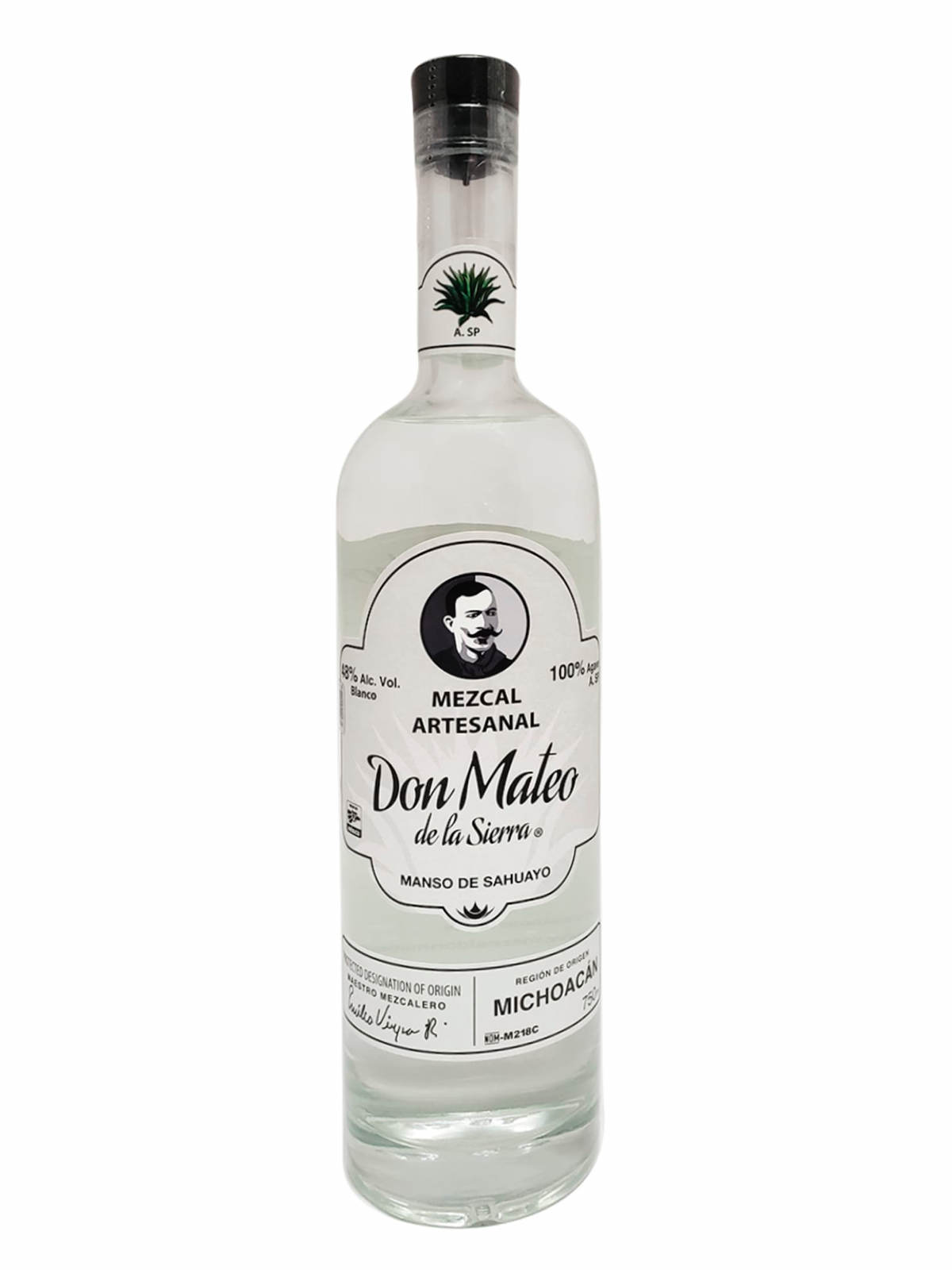 Don Mateo Manso de Sahuayo bottle