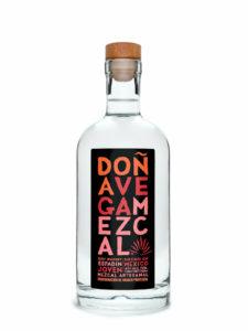 Doña Vega Espadin Mezcal bottle