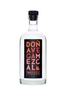 Doña Vega Tobala Mezcal bottle