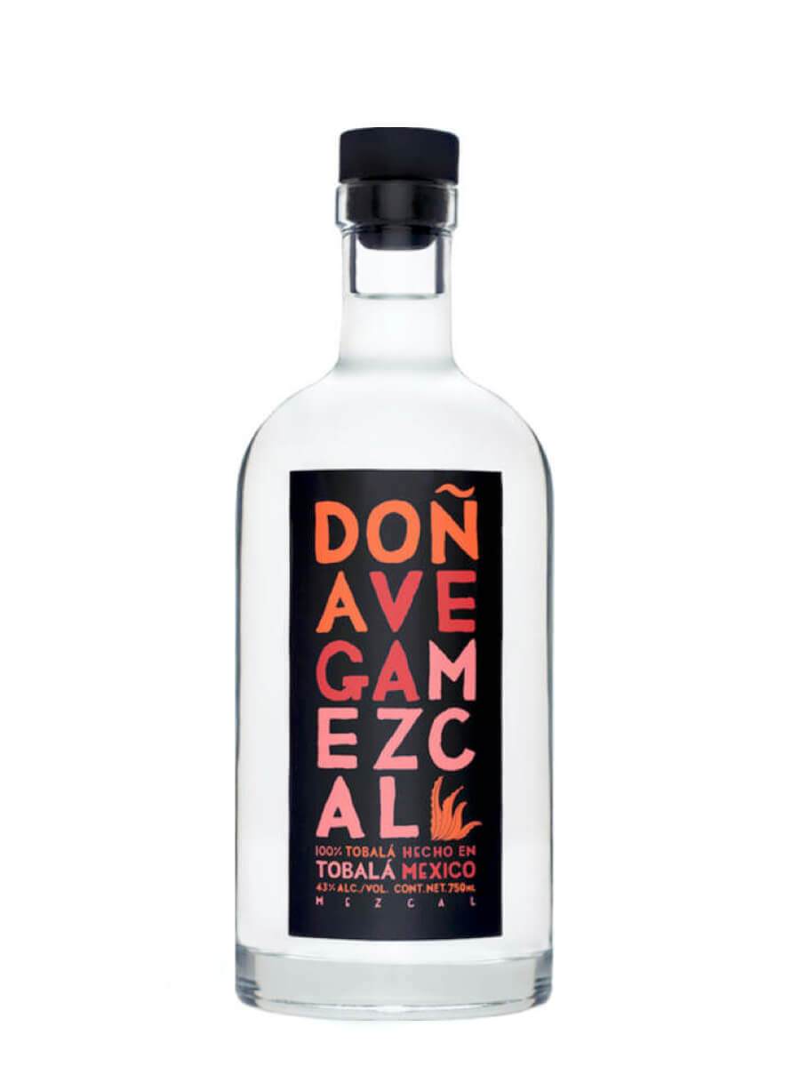 Doña Vega Tobala Mezcal bottle