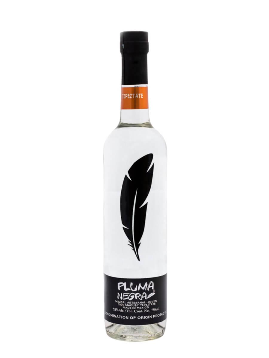 Mezcal Pluma Negra Tepeztate bottle