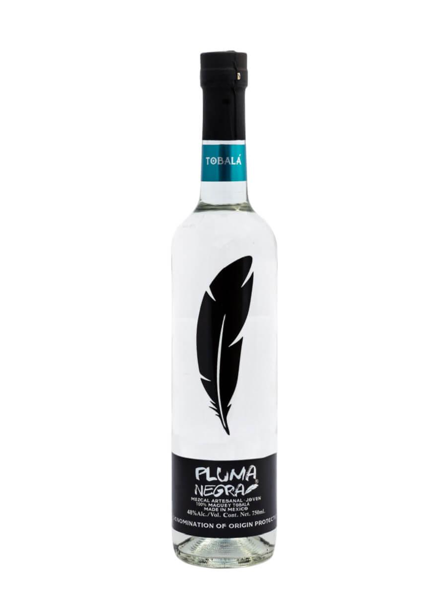 Mezcal Pluma Negra Tobala bottle