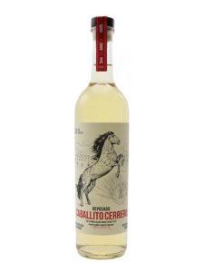 A bottle of Caballito Cerrero Chato Reposado