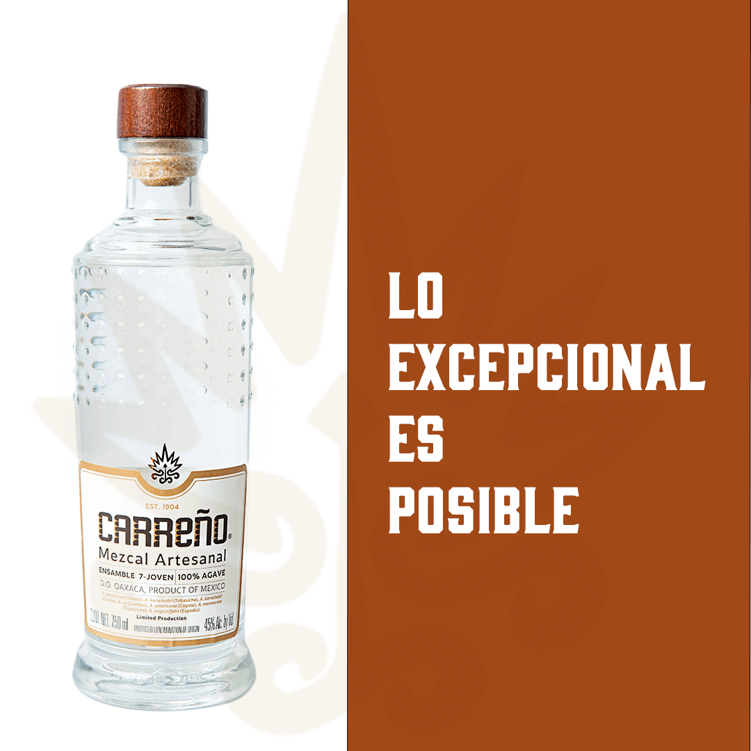 1-1 Ratio Carreno Mezcal