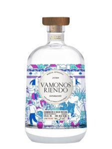 Vamonos Riendo mezcal bottle