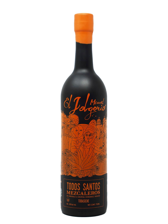 El Jolgorio Todos Santos Mezcaleros Tobasiche bottle