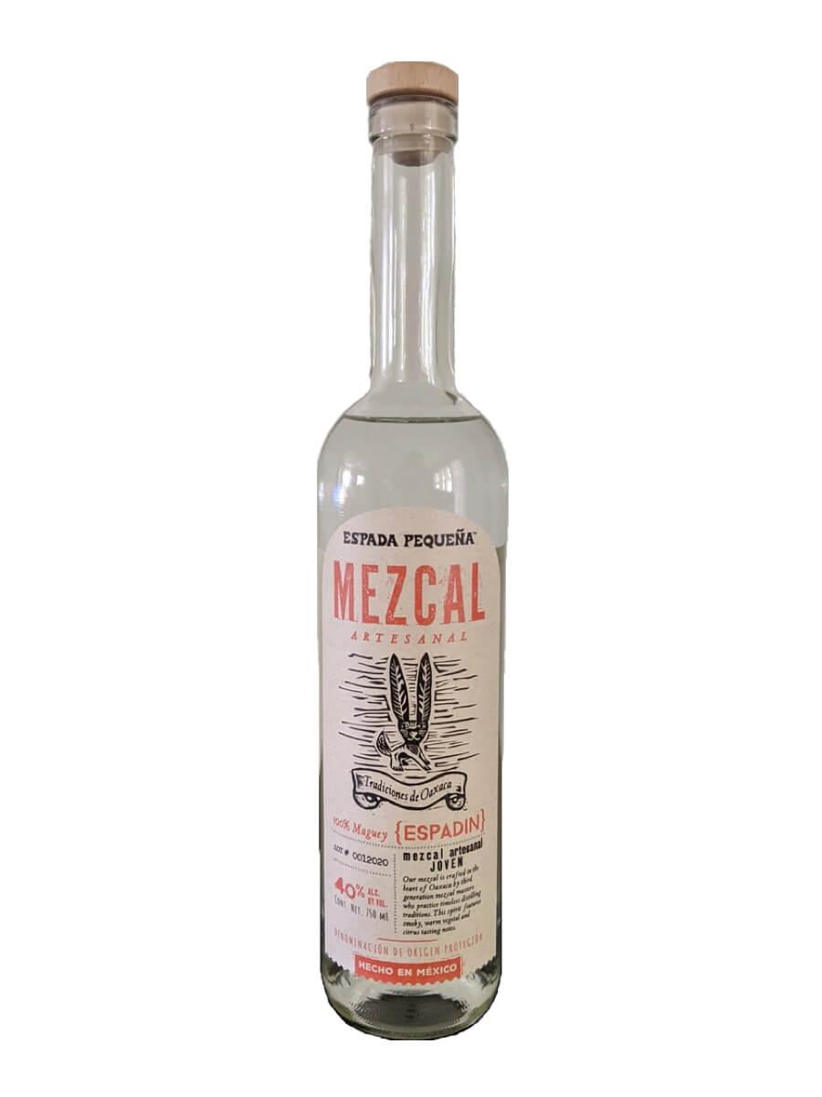 Espada Pequeña Mezcal bottle