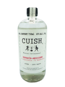 Cuish Espadin-Mexicano mezcal bottle
