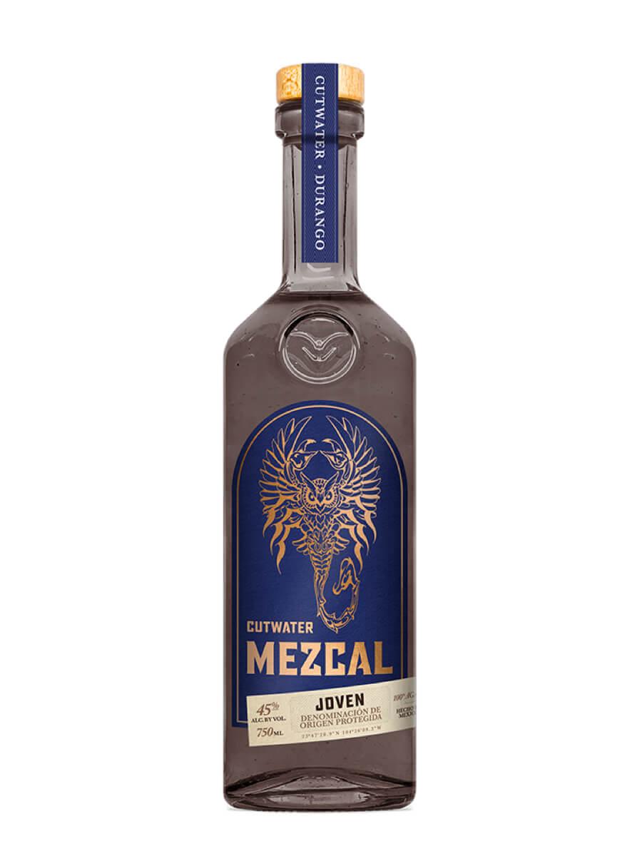 Cutwater Mezcal bottle