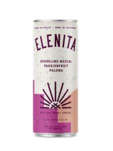 Elenita Sparkling Mezcal Passionfruit Paloma can