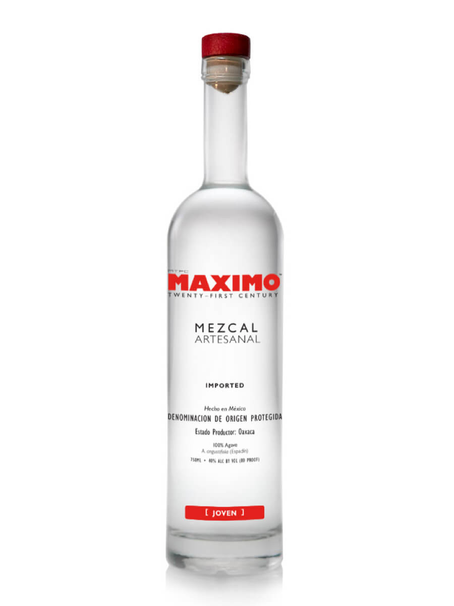 Maximo Mezcal Joven bottle
