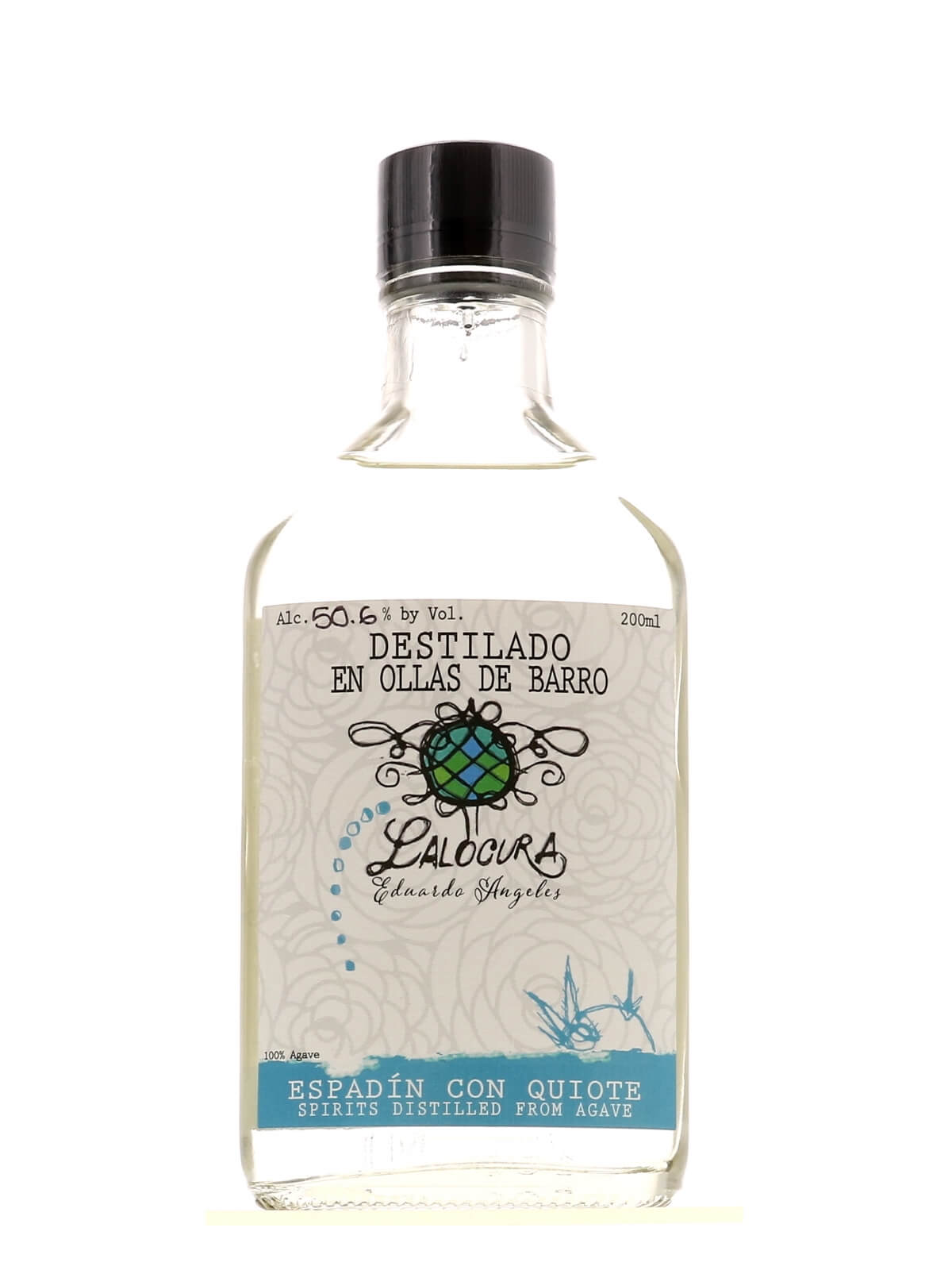 Lalocura Espadin con Quiote 200ml bottle from Agave Mixtape